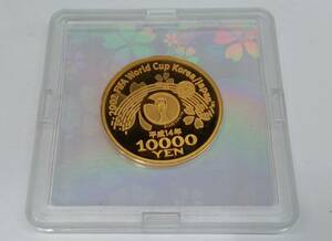 K24 2002 FIFA ワールドカップ金貨 コイン 約4.2×4.2cm 29.3g
