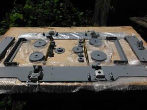 7.5インチ 2軸 ミニ電気機関車 自由型 汎用台車キット ミニSL ライブスチーム