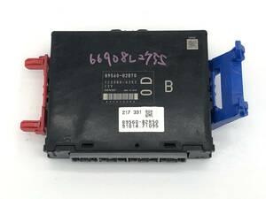 _b66908 ダイハツ ミラ カスタムX DBA-L275S エンジンコンピューター メイン ECU KF-VE 89560-B2B70 / 112300-6252
