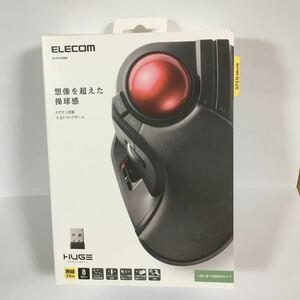 エレコム ELECOM M-HT1DRBK [トラックボールマウス 大玉 8ボタン チルト機能 無線 ブラック] 新品未開封