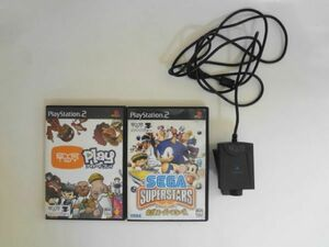 送料無料 即決 ソニー sony プレイステーション2 PS2 プレステ2 セガスーパースターズ アイトイ Eye Toy セット レトロ ゲーム b425