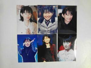 AN21-011 島袋寛子 ポストカード 6枚セット 元SPEED 歌手 女優 舞台 演劇 スピード hiro ヒロ 人気