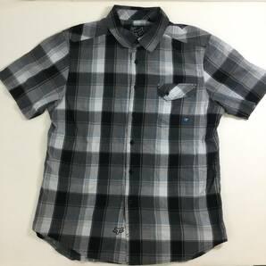 Fox ボタンチェックシャツ Lサイズ USA古着 フォックス