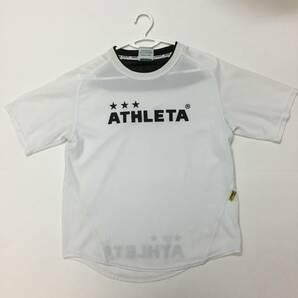 アスレタ プラクティスシャツ ホワイト 速乾 Mサイズ
