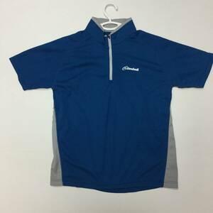 クラウドベイル CLOUDVEIL 半袖プルオーバーシャツブルー Sサイズ