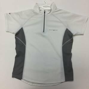 モンベル 半袖 プルオーバーシャツ ホワイト レディースMサイズ 1104794