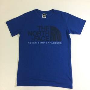 The north face Tシャツ ブルー Sサイズ ノースフェイス