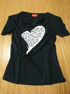 Vivienne Westwood RED LABEL インポート gaia Tシャツ M ヴィヴィアンウエストウッド