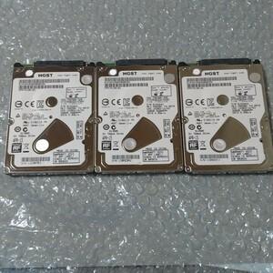 HGST HDD 薄型 320GB 2.5インチ PS3 3枚セット