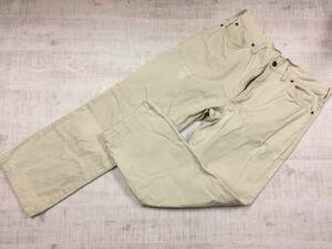 リー Lee ウエスターナー ワーク ストリート シンプル アメカジ 日本製 ストレート パンツ ボトムス メンズ 34 ベージュ