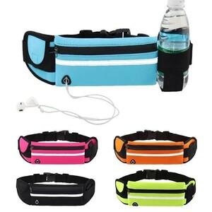 ランニングポーチ ウエストポーチ 揺れない スマホ iphone スポーツ ボトル 大容量 携帯 バッグ ジョギング