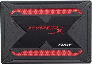 【即決 送料無料】キングストン Kingston 480G HyperX FURY RGB SSD 2.5インチ SATA3 3D NAND採用 SHFR200/480G