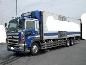 部品取り 冷凍 初年度登録平成16年2月 日野 グランドプロフィア 車検切れ 緑ナンバー付 一時抹消予定
