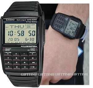 ☆[メール便]DBC32-1A DATA BANK データバンク 時計 カシオ CASIO チープカシオ チプカシ