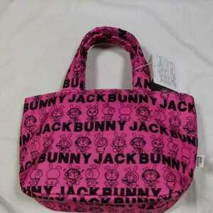 新品正規品 ジャックバニー パーリーゲイツ ドラえもん コラボ 保冷バッグ カートバッグ ピンク 送料無料