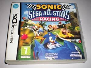 DS ソニック&セガ オールスターレーシング 海外版 英語版 欧州版 マリオカート風 SEGA ソニックザヘッジホッグ オールスターズレーシング
