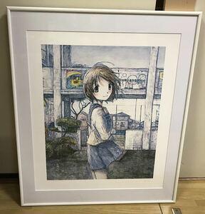 額装済 くらやえみ 希望の彼女 50枚限定 新作 版画 カイカイキキ 検) 村上隆 kaikaikiki となりのジンガロ ポスター