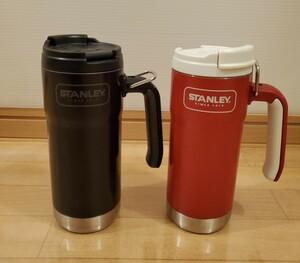 スタバ スタンレー タンブラー 赤と黒セット stanley starbucks