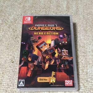 Minecraft Dungeons Hero Edition (Switch版) HAC-P-AUZ4E マインクラフト