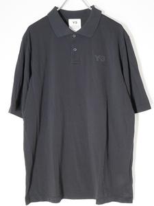 Y-3ワイスリー(Yohji Yamamotoヨウジヤマモト) 2021SS CLASSIC POLO半袖ロゴポロシャツ[MTSA64836]