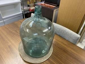 ●○昭和レトロ 古いガラス瓶 大小気泡入り ○●