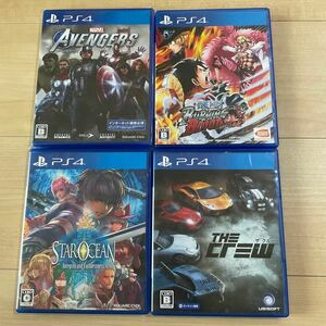 PS4 ソフト 4本 まとめ売り