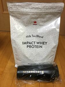 インパクトホエイプロテイン ミルクティー 味 2.5kg メタルシェイカー付 ホエイプロテイン