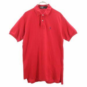 ポロバイラルフローレン 80s 緑タグ ワンポイント刺繍 半袖 ポロシャツ XL Polo by Ralph Lauren ヴィンテージ メンズ 210730 メール便可