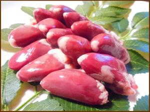D◆焼き鳥☆炒め物に!北海道産 鶏ハート(心臓)◆1袋1kg入