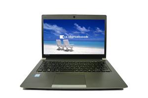 ●東芝_高性能 第8世代 i5-8250U_8Gメモリー_M.2 128GB SSD_Toshiba Dynabook R63/H_13.3型_Windows 10 Pro【中古ノートパソコン ITS JAPAN