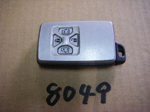 平成20年 エスティマ アエラス DBA-ACR50W 純正 スマートキー キーレス 鍵 カギ 両側スライドドア