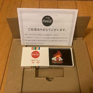 東京2020記念ピン TOKYO2020 オリンピック ピンバッジ 非売品 コカコーラ限定バッジ パラリンピック 聖火