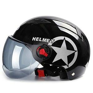 新品 ヘルメット オープン野球キャップ 抗UV 安全 Piano黒 バイク 保護 アクセサリー