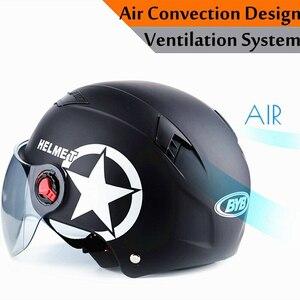 新品 ヘルメット オープン野球キャップ 抗UV 安全 黒 バイク 保護 アクセサリー