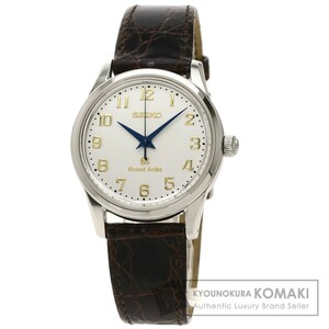 SEIKO セイコー SBGW003 グランドセイコー 300本限定 9S54-0020 腕時計 ステンレススチール 革 メンズ 中古