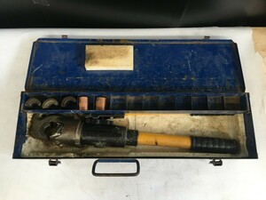 【中古品】泉精器製作所 イズミ EP-410A 手動油圧式圧着工具 / ITT03JA6KA88