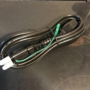 電源ケーブル パソコン モニター 黒 約1.8メール 未使用