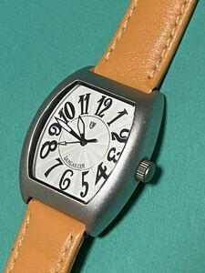 腕時計 ビンテージ ランカスター アルミケース