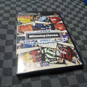 PS2【Jリーグクラブチャンピオンシップ=ウイニングイレブン2007=】コナミ ※解説書なし[送料無料]返金保証あり