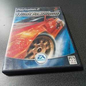 PS2【ニード・フォー・スピード/アンダーグラウンド】2003年EAスポーツ [送料無料]返金保証あり