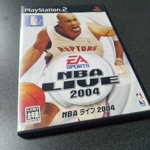 PS2【NBAライブ2004】EAスポーツ ※解説書なし [送料無料]返金保証あり
