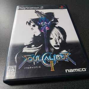 PS2【ソウルキャリバー2】2002年ナムコ [送料無料]返金保証あり