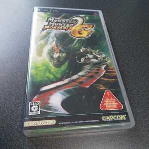 PSP【モンスターハンターポータブル2nd G】2008年カプコン ※暴力グロテスクシーンあり 対象年齢15歳以上[送料無料]返金保証あり