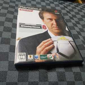 PS2【ワールドサッカー/ウイニングイレブン8】2004年コナミ ※解説書なし [送料無料]返金保証あり