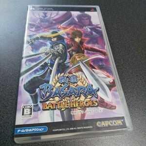 PSP【戦国BASARAバトルヒーローズ】2009年カプコン [送料無料]返金保証あり