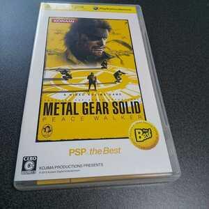 PSP【メタルギアソリッドperce walker】2010年コナミ [送料無料]返金保証あり