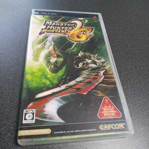 PSP【モンスターハンターポータブル2nd G】2008年カプコン [送料無料]返金保証あり