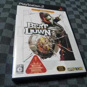 PS2【ビートダウン】2005年カプコン ※暴力・グロテスクシーンあり 15歳以上対象 [送料無料]返金保証あり