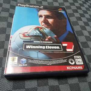 PS2【ワールドサッカー/ウイニングイレブン7】2003年コナミ [送料無料]返金保証あり