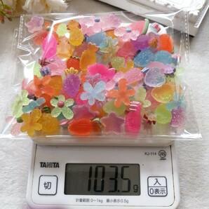 デコパーツ プラパーツ ハンドメイド 手作り 材料 パーツ 大量 砂糖飴 WG2